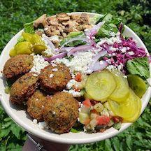 Garbanzo delicious Mediterranean food