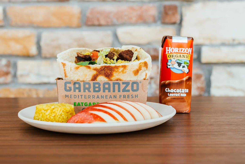 Garbanzo Mediterranean Fresh Kids Meal